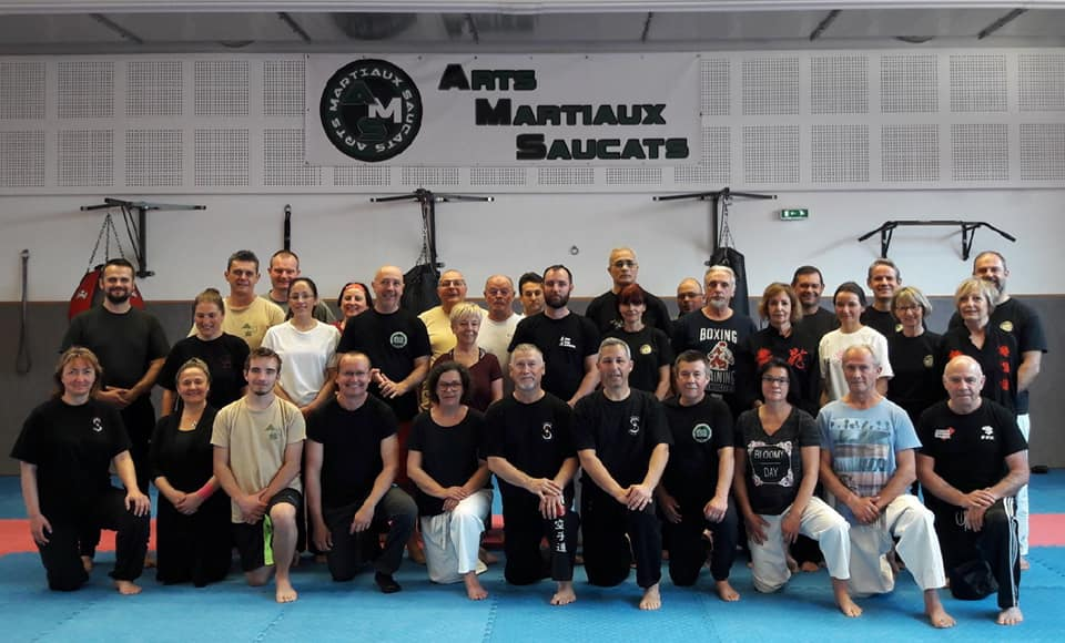 Photo de groupe stage Taichi énergie martiale Mars 2019